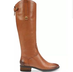 "San edelman ""penny"" leather  tall boots."